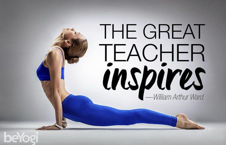 great yoga teacher