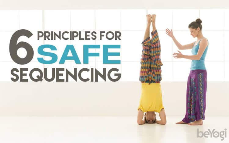 safe yoga sequencing