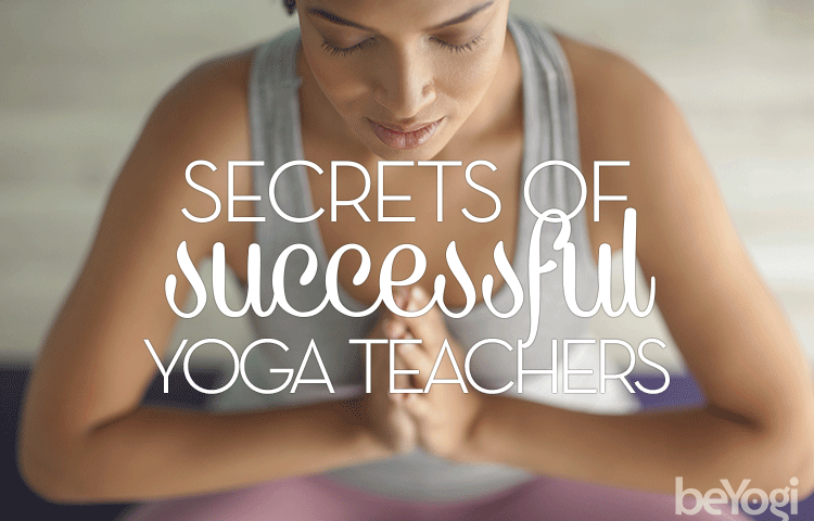 successful yoga teachers