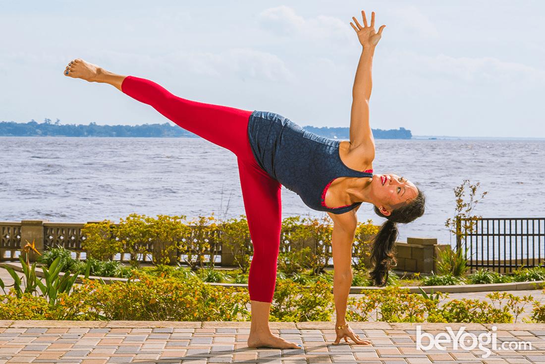 Prasarita Padottanasana Twist Yoga Poses   Yogic Pos...
