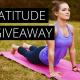 gratitude giveaway