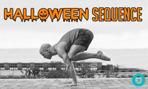 A Halloween Yoga Sequence So Good, It's Scary