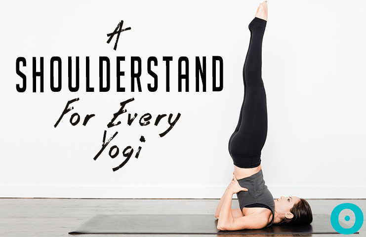 shoulder stand - yoga
