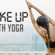 wake up with yoga