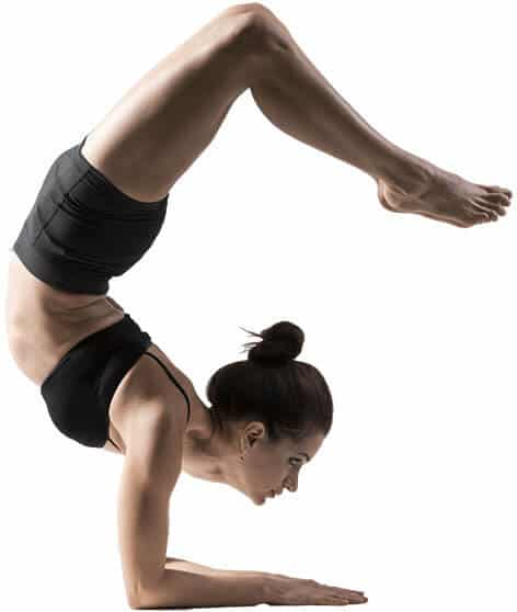 Scorpion Pose on Yoga Insurance Page