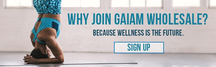 sign up for gaiam wholsale