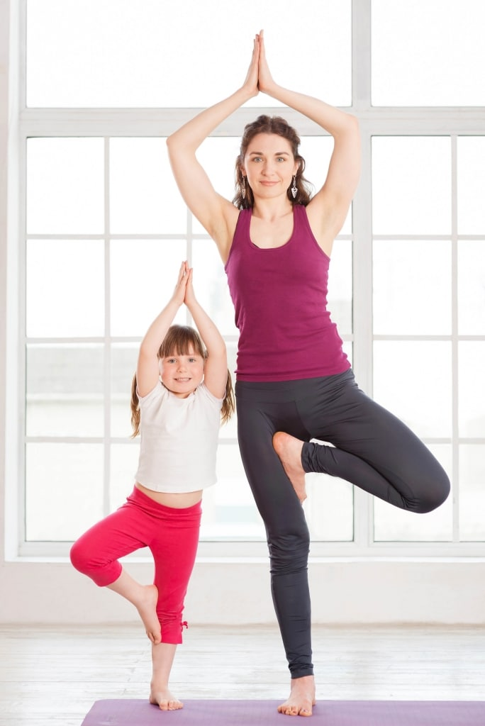 Mamaste: The Perfect Mommy and Me Yoga Sequence