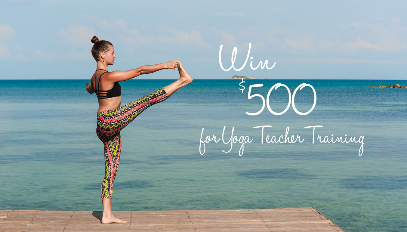 yoga teacher training scholarship
