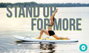Stand Up and Take On the World With SUP Yoga