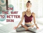 yoga for better skin