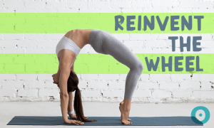 reinvent the wheel pose
