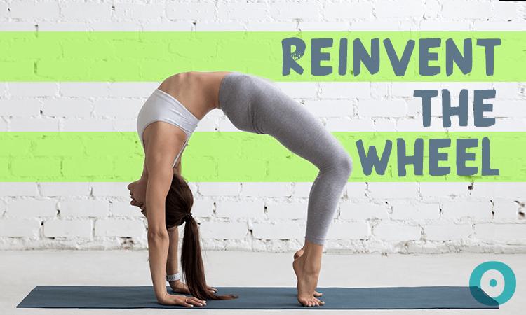 reinvent the wheel pose