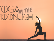 yoga in the moonlight
