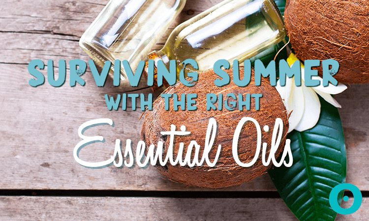 essential oils to help you survive summer