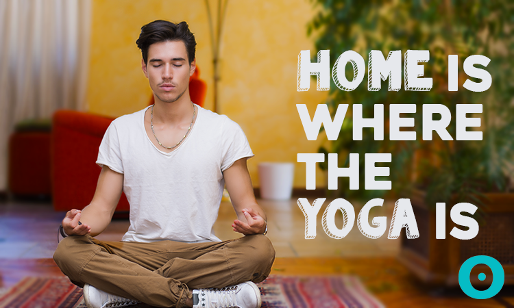 home yoga space