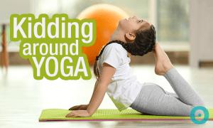 kidding around yoga