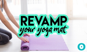 recycled yoga mat