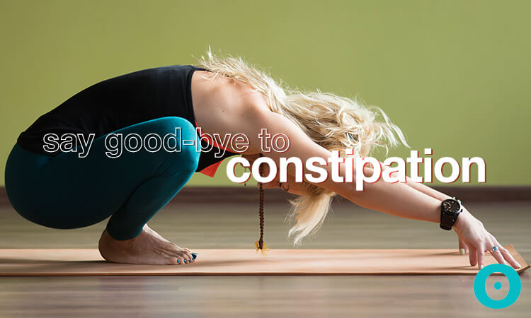 yoga to say good-bye to constipation
