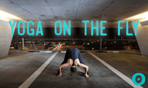 yoga sequence for long flights