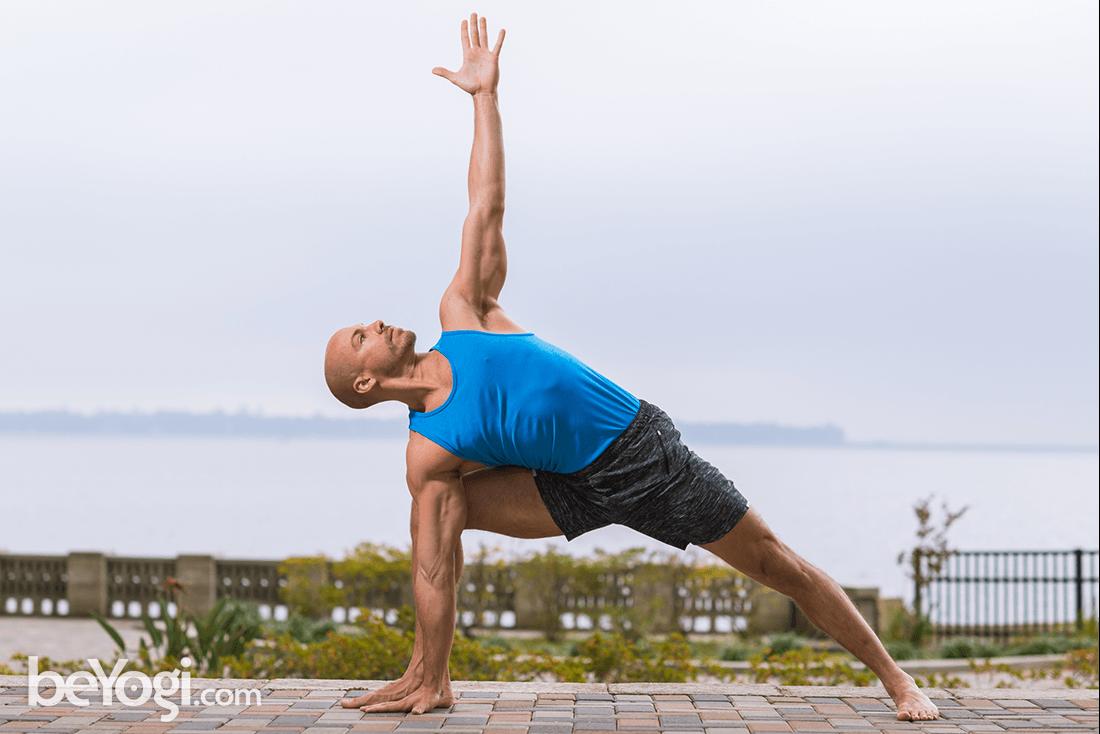 Extended Side Angle Pose – Utthita Parsvakonasana