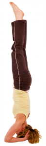 headstand - extend