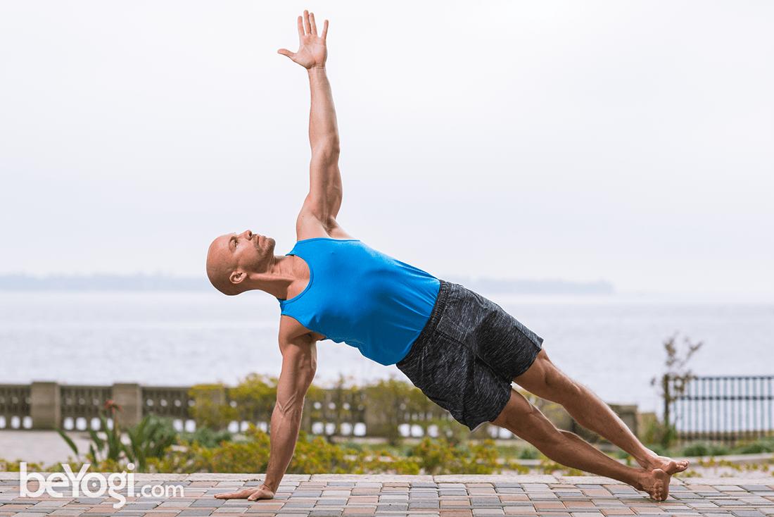 Side Plank Pose – Vasisthasana | beYogi