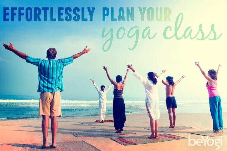 Yoga class planning